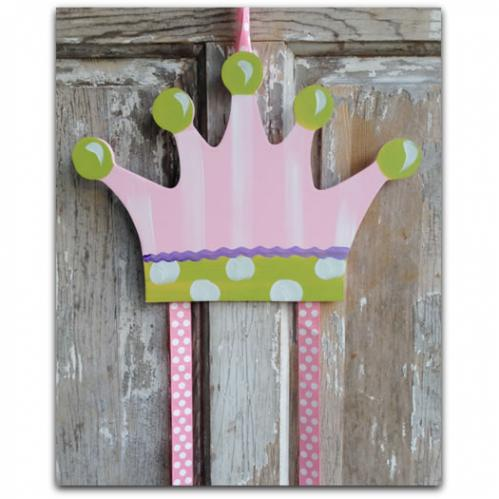 Princess Crown Hairbow & Barrette Holder