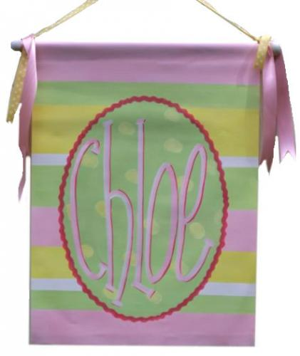 Chloe Personalized Wall Hanging
