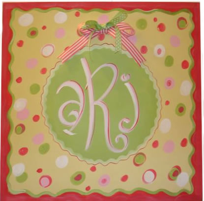 Personalized Canvas Name Art, Allie