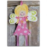 Blonde Fairy Hair Bow & Barrette Holder