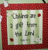 Children Are a Gift From the Lord Canvas Art