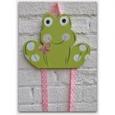 Frog Hair Bow & Barrette Holder