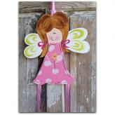 Red Head Fairy Hair Hairbow & Barrette Holder