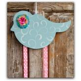 Bluebird Hairbow & Barrette Holder