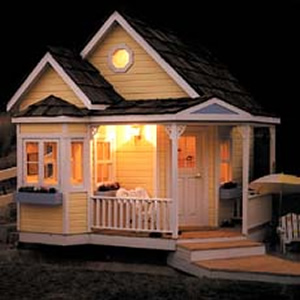 victorian style playhouse plans