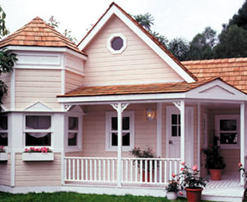 Mini mansion luxury playhouse for Mini mansions houses