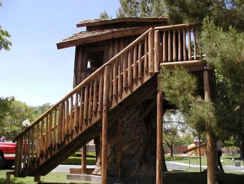The Timber Tower Tree House