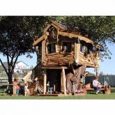 The Timber Tower DELUXE Tree House