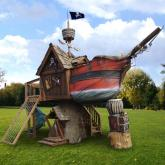 Treasure Ship Tree House DELUXE