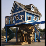 Turbo Timbers Tree House DELUXE