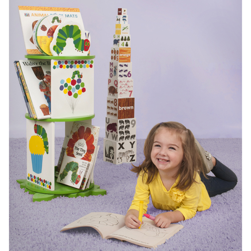 The Very Hungry Caterpillar Revolving Bookcase Thumbnail 1
