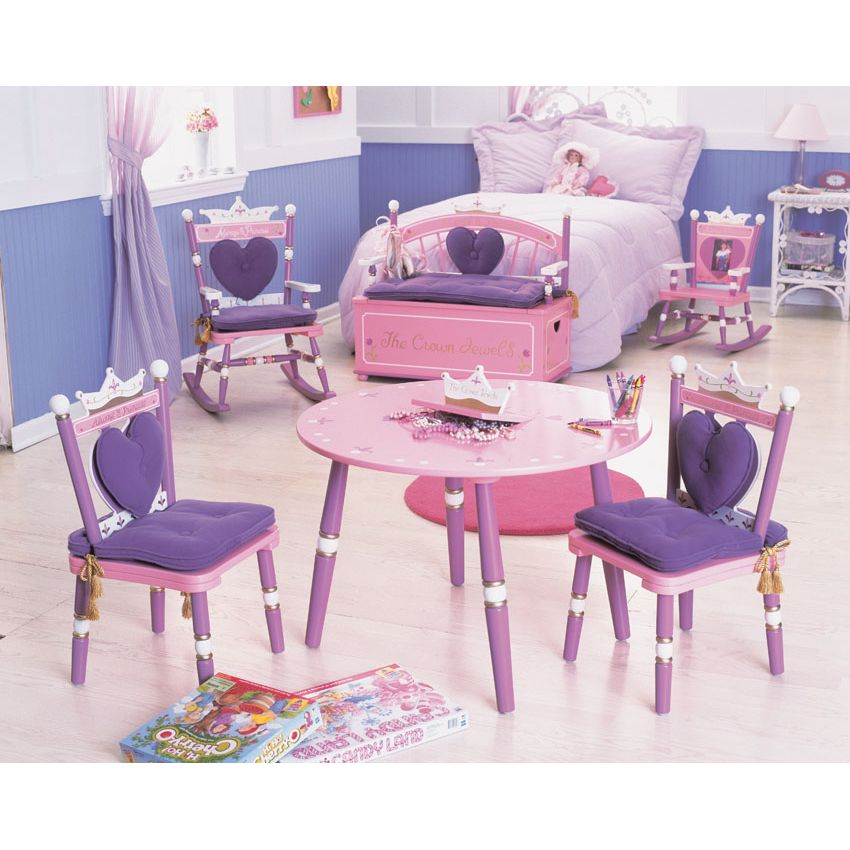Princess Table and 2 Chair Set by Levels of Discovery Thumbnail 4
