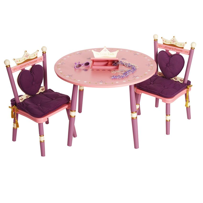 Princess Table and 2 Chair Set by Levels of Discovery