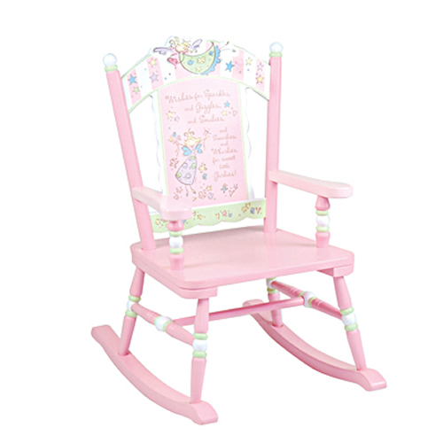Fantastic Fairy Wishes Rocking Chair By Levels Of Discovery Ibusinesslaw Wood Chair Design Ideas Ibusinesslaworg
