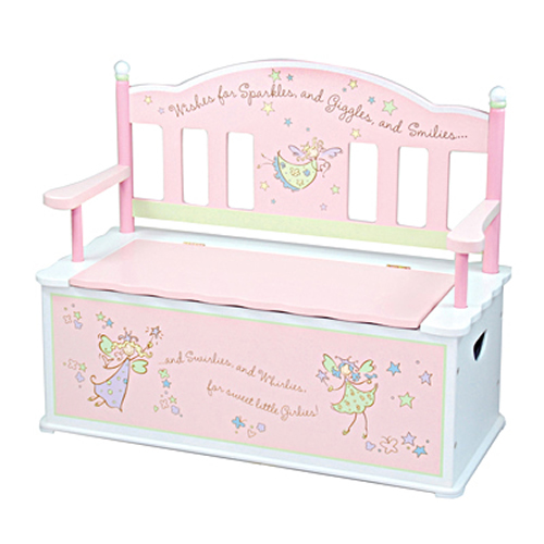 Fairy Wishes Storage Bench by Levels of Discovery Thumbnail