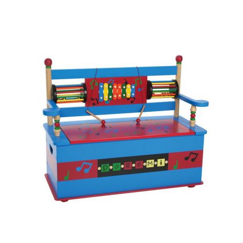 Musical Toy Box Bench by Levels of Discovery