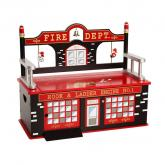 Firefighter Toy Box Bench by Levels of Discovery
