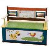CoCaLo Jungle Jingle Storage Bench by Levels of Discovery