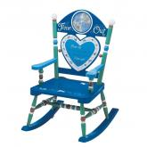 Boys Time Out Rocking Chair by Levels of Discovery