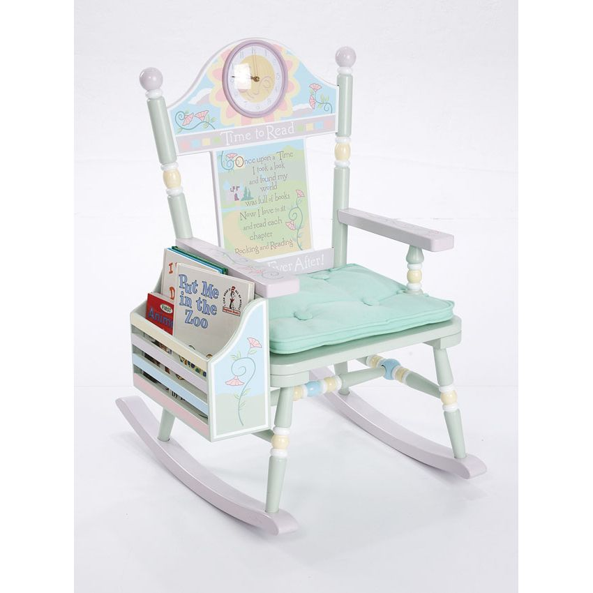 time to read toddler rocking chair girl by levels of discovery. Black Bedroom Furniture Sets. Home Design Ideas