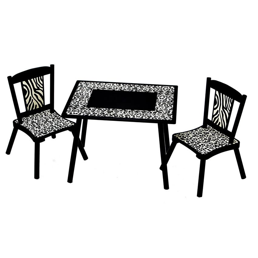 Wild Side Table & Chairs by Levels of Discovery