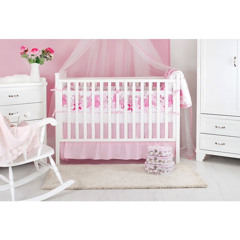 Rose baby bedding set Thumbnail 2