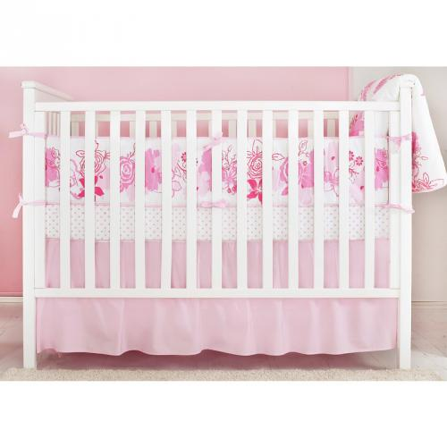 Rose baby bedding set Thumbnail