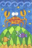 Crab Bath Tile Wall Mural