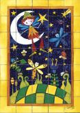 Nights of Dreams Bath Tile Mural