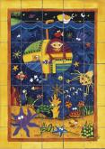 Under the Sea Bath Tile Mural