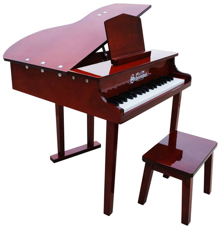 Concert Grand Piano For Kids Mahogany