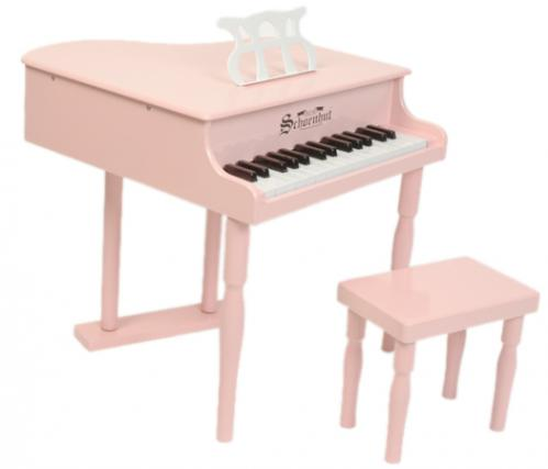 Classic Baby Grand Toy Piano, Pink