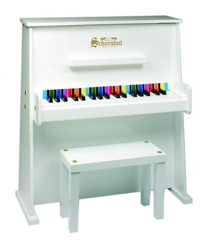 Day Care Durable Kids Piano - White