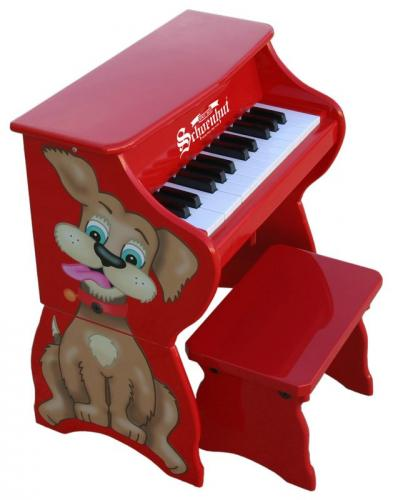 Silly Dog Toy Piano with Bench