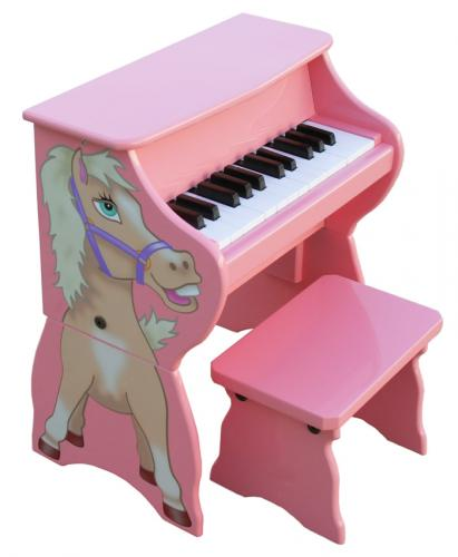 Happy Horse Toy Piano with Bench
