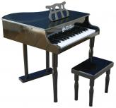 Classic Baby Grand Toy Piano, Black