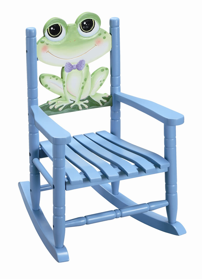 Freddy Frog Rocking Chair