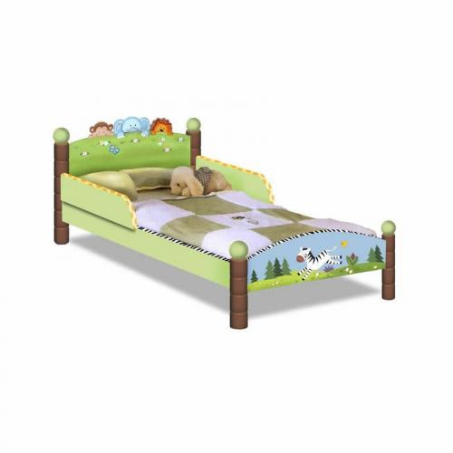 Jolly Jungle Toddler Bed