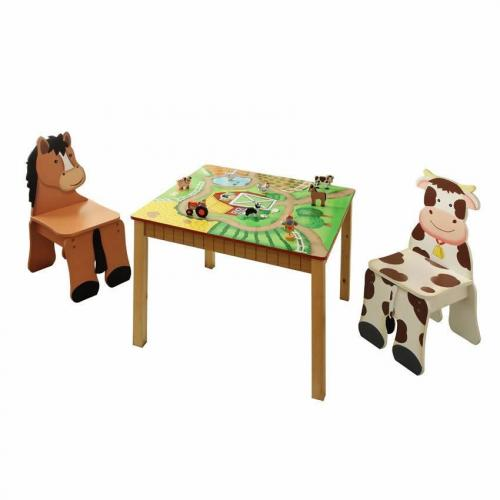 Happy Farm Table & Set of 2 Chairs Thumbnail