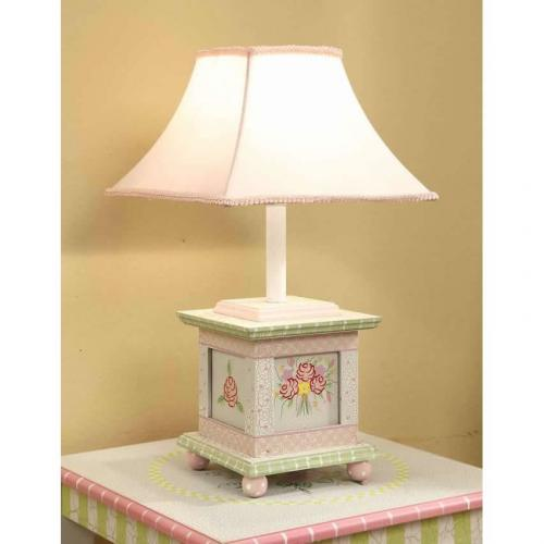 shabby chic table lamp. Black Bedroom Furniture Sets. Home Design Ideas