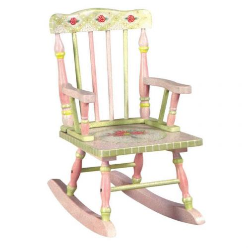 Outstanding Shabby Chic Floral Rocking Chair Ibusinesslaw Wood Chair Design Ideas Ibusinesslaworg
