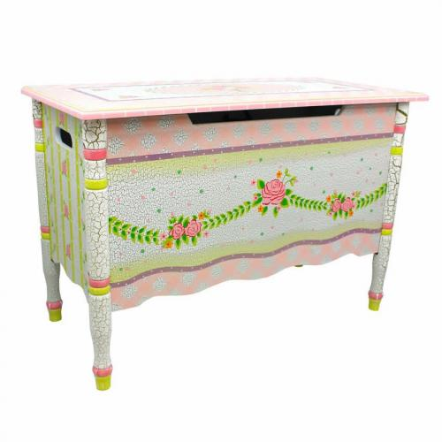 Shabby Chic Floral Collection, Toy Chest Thumbnail