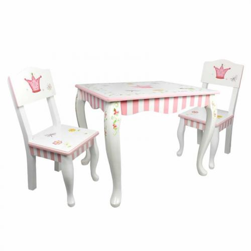Princess the frog table and chair set for Table td width