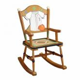 Kids Sports Fan Rocking Chair
