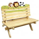 Jolly Jungle Outdoor Bench