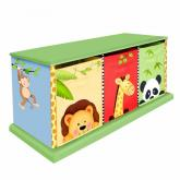 Jolly Jungle 3 Drawer Cubby