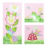 Magic Garden Canvas Wall Art Set