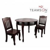 Windsor Round Table and Chair Set- Espresso