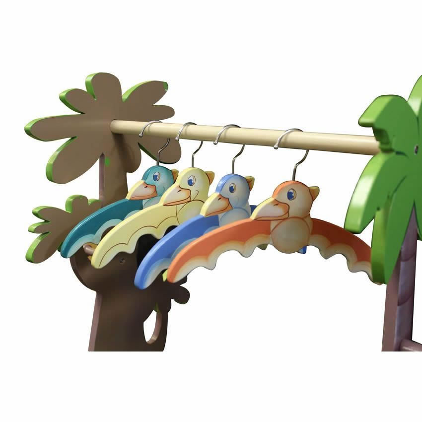 Dinosaur Kingdom Valet Rack w/Set of 4 Hangers Thumbnail 10