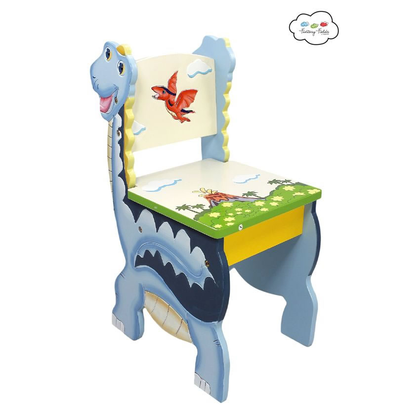 Dinosaur Kingdom Table & Set of 2 Chairs Thumbnail 3